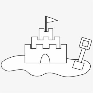 Sand Castle Clipart Vector Clip Art Free Design.