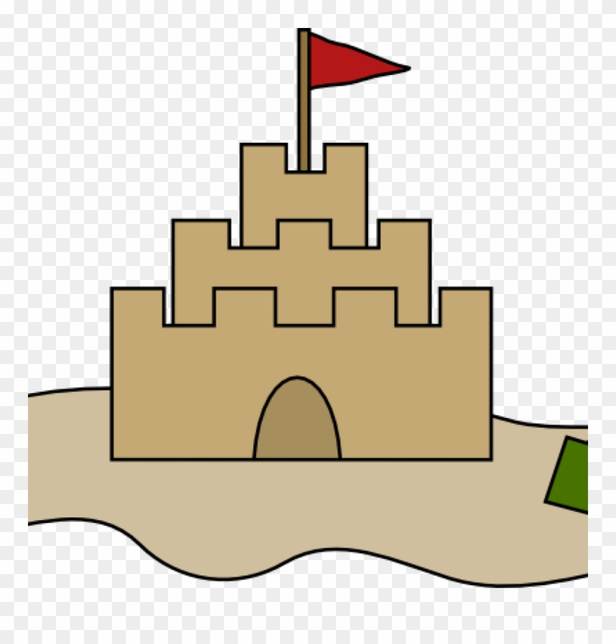 Castles Clipart Sand Castle Clip Art At Clker Vector.