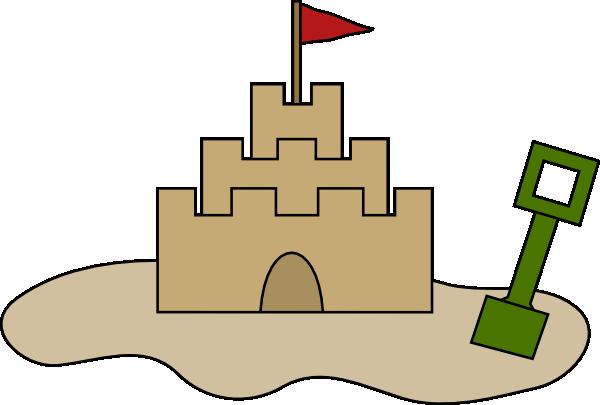 Sand Castle Clip Art at Clker.com.