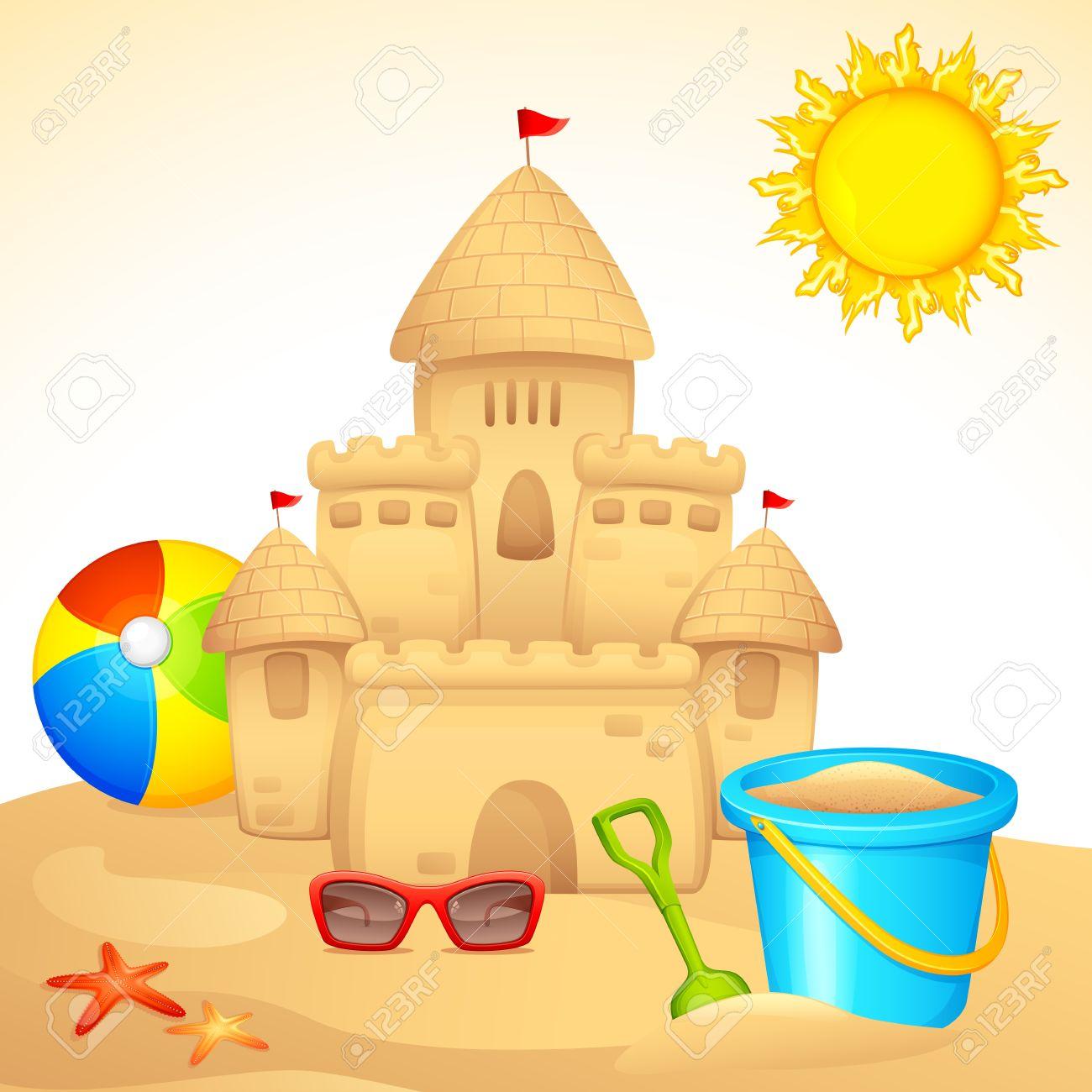 Sand castles clipart 3 » Clipart Station.