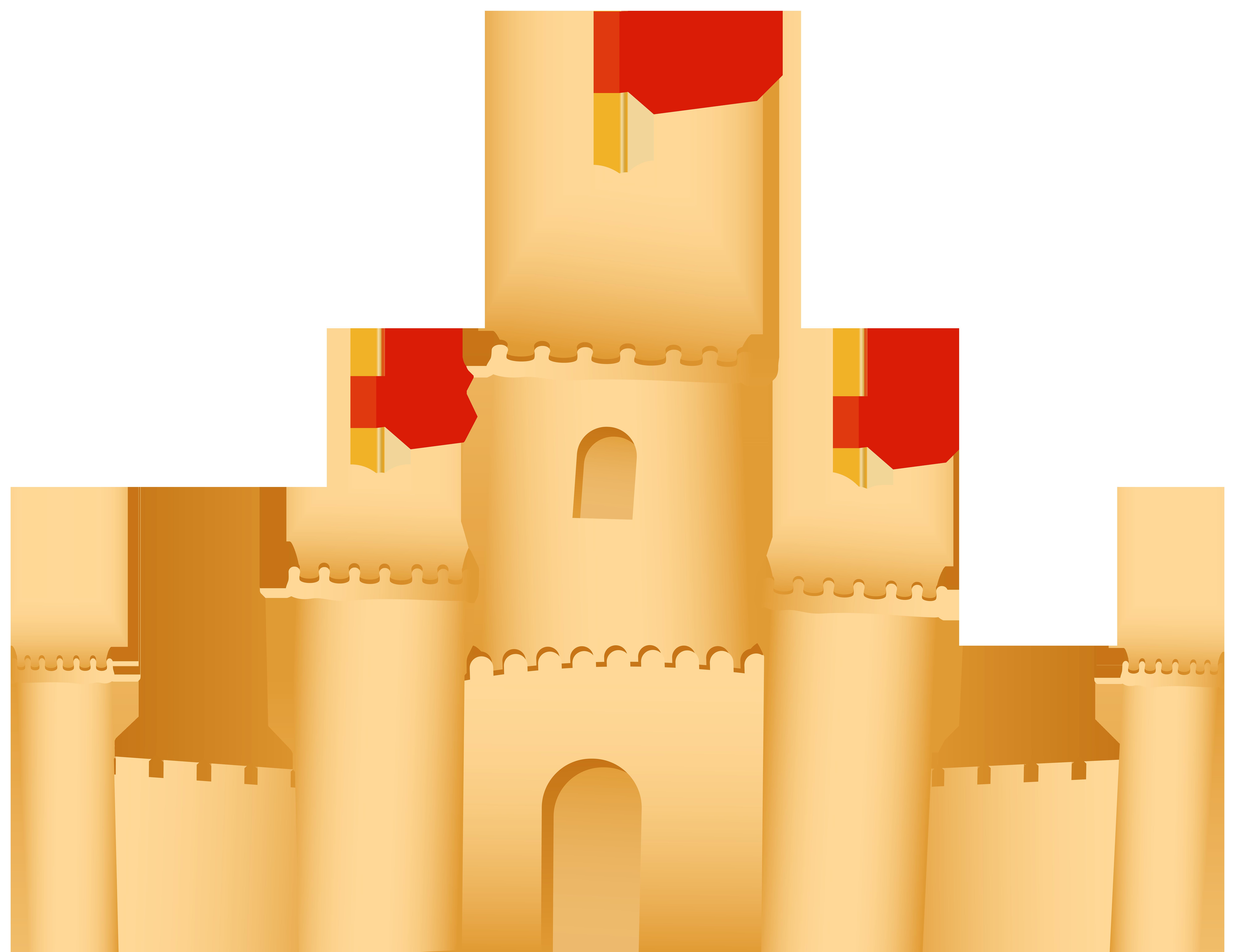 Sand Castle PNG Clip Art.