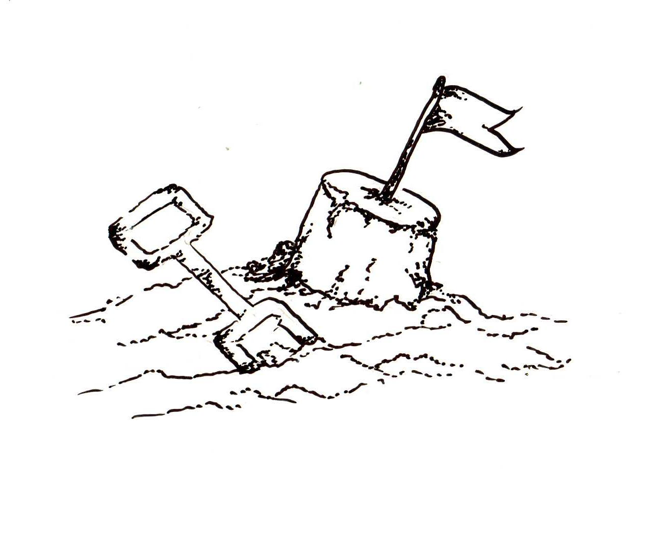 Sand clipart black and white 1 » Clipart Station.