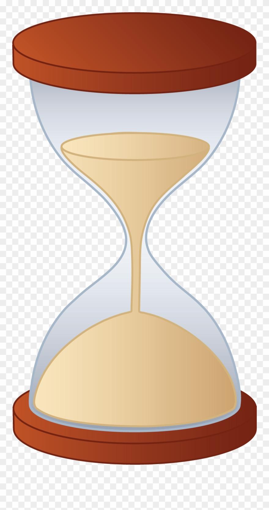 Sand Clock Clipart.