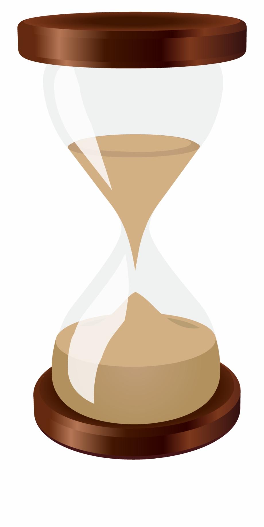 Hourglass Clock Sand Euclidean Vector.