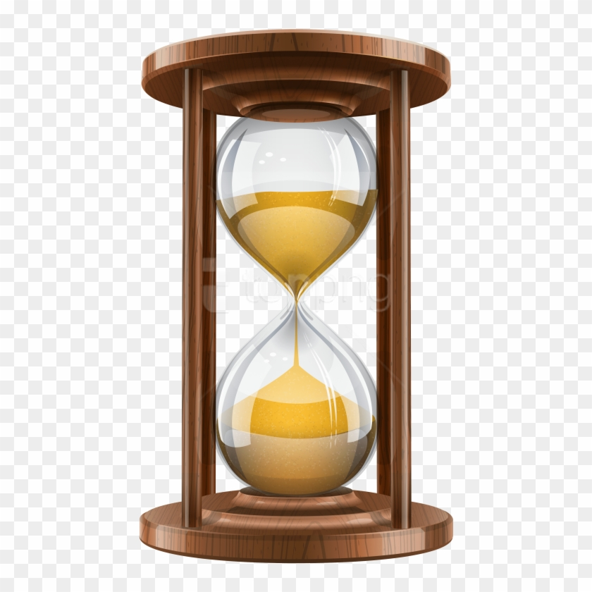 Free Png Wooden Sand Clock Png Images Transparent.
