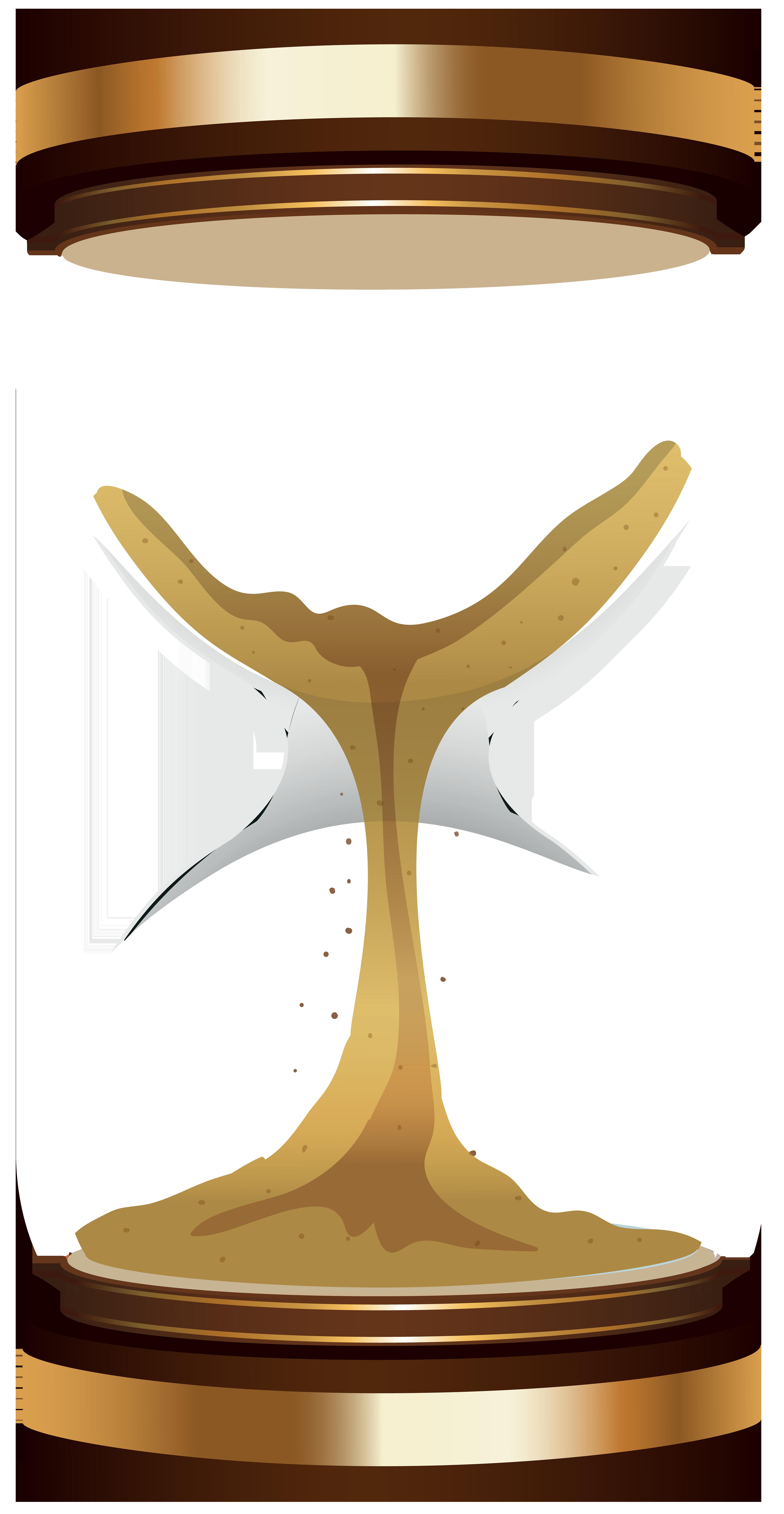 Sand Clock PNG Clip Art.