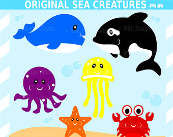 Under The Sea Clipart.