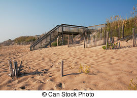 Stock Photography of Beach Erosion Control.