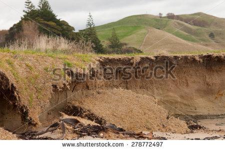 Coastal Erosion Stock Photos, Royalty.