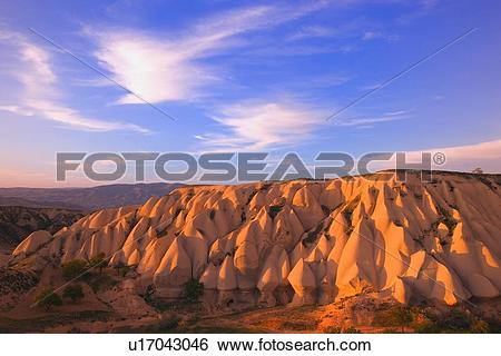 Stock Images of Strange sand formations u17043046.