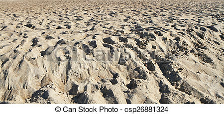 Clip Art of sand panorama.