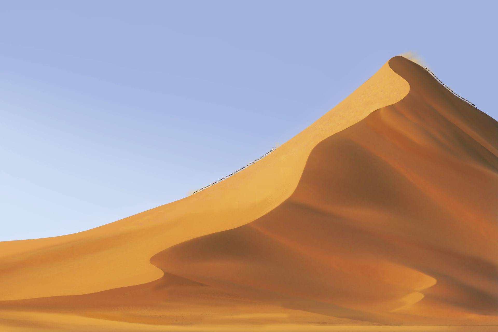 Desert clipart sand hill, Desert sand hill Transparent FREE.