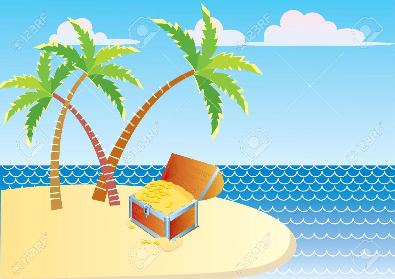 Sand Island Clipart Clipground