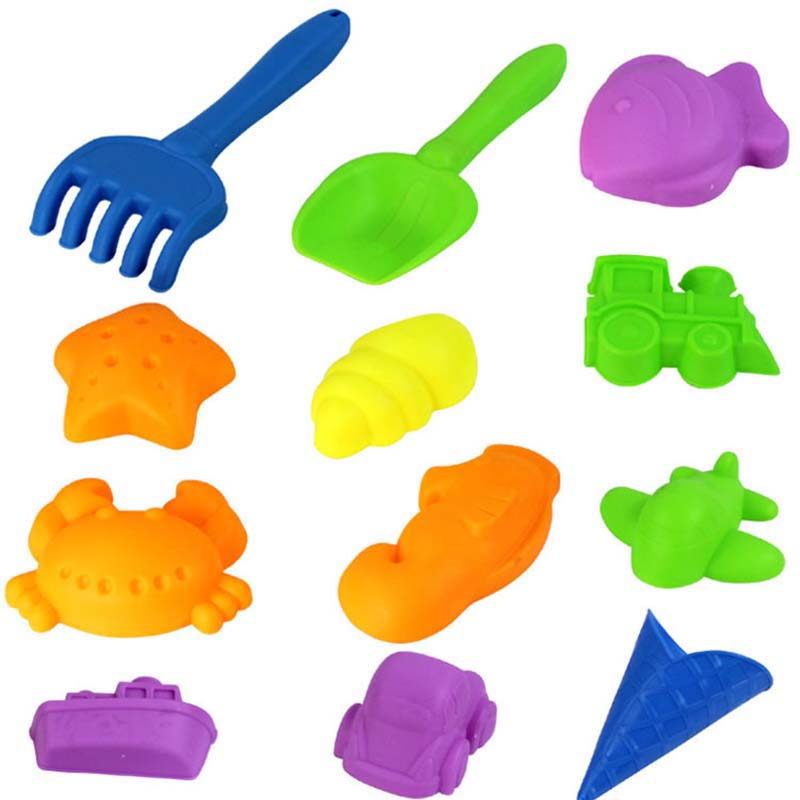 Aliexpress.com : Buy 12Pieces/Set Baby Space Sand Mold Colored.