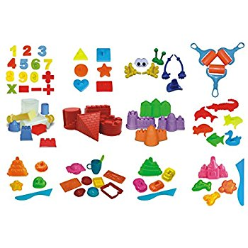 Amazon.com: 79 Kinetic Sand Mold Pieces.