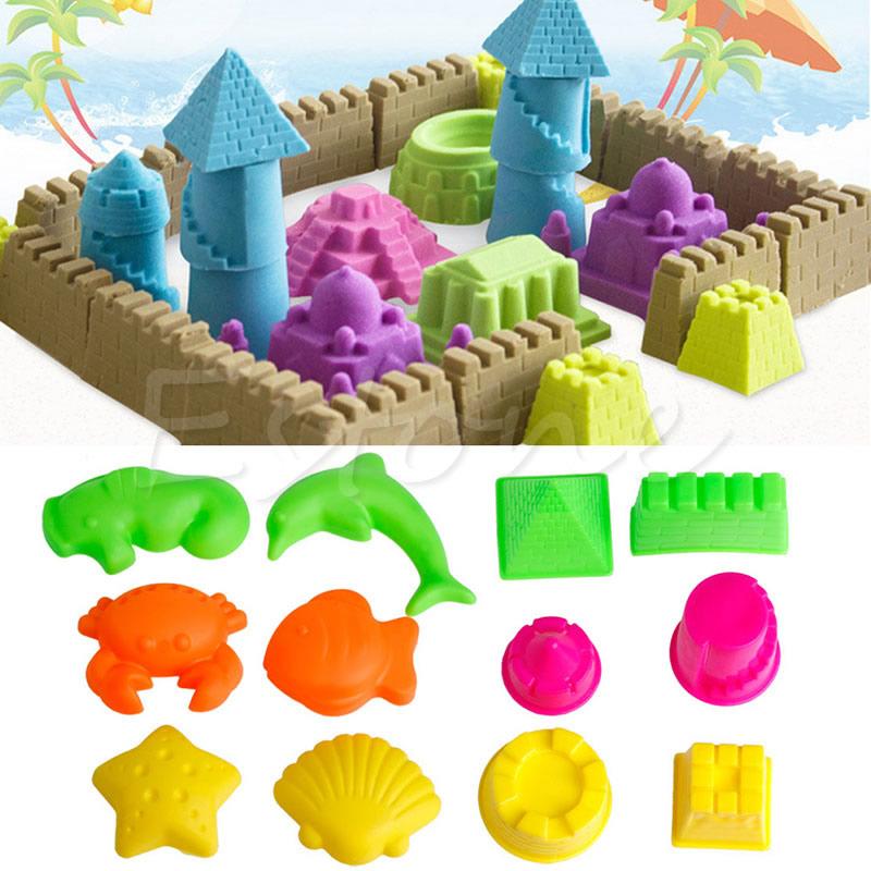 Popular Beach Sand Molds.