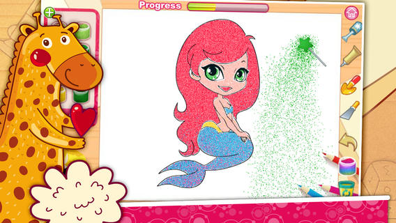 kids sand painting:Coloring game on the App Store.