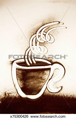 Stock Illustration of Sand Painting x75300426.