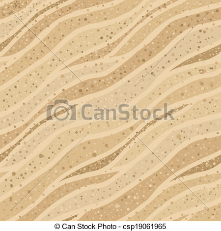 Clip Art Vector of Seamless sand texture.