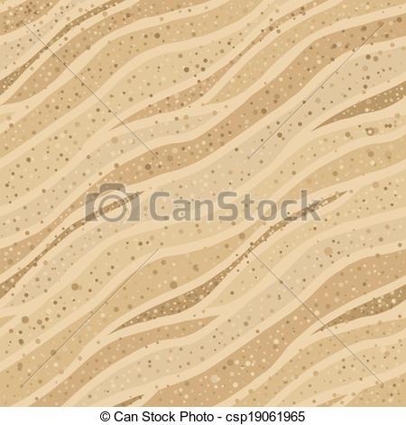 Clip Art Vector of Seamless sand texture.