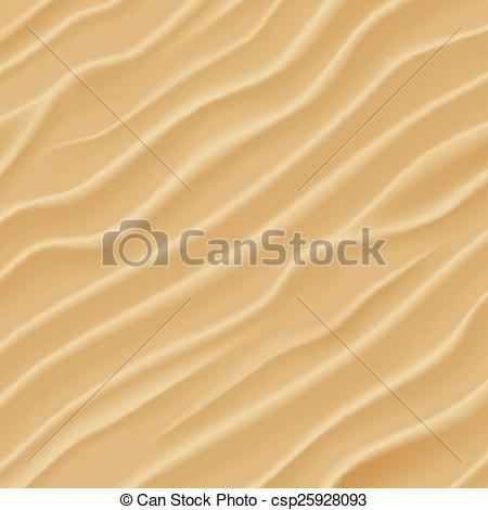 EPS Vectors of Sand texture. Desert sand dunes.