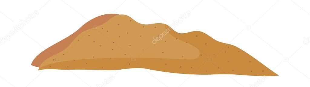 Pile Of Sand Clipart.