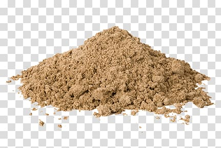 Brown sand, Pile Of Sand transparent background PNG clipart.
