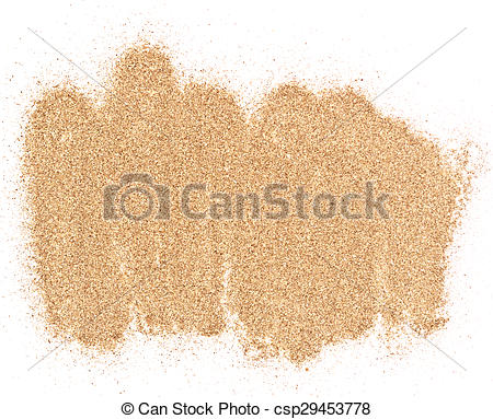 sand pile.