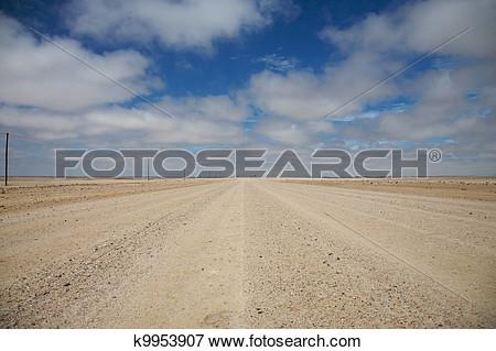 Flat road clipart.
