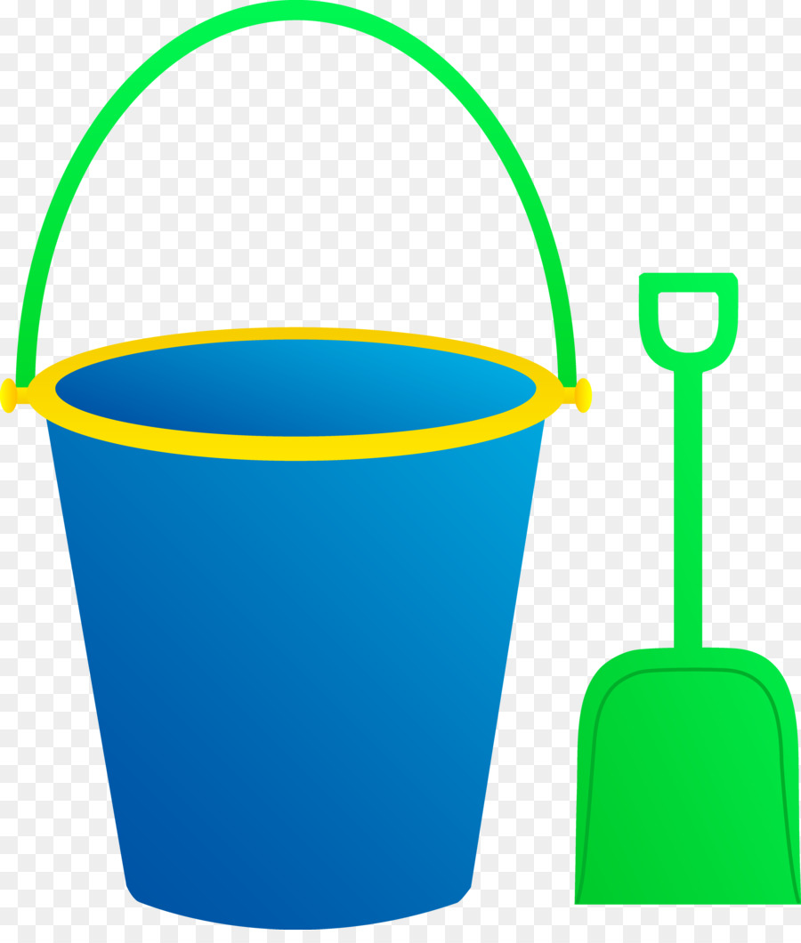 Bucket And Spade png download.