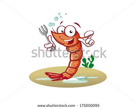 Shrimp Character Stock Photos, Royalty.