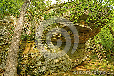 Sandstone Bluff Stock Photography.