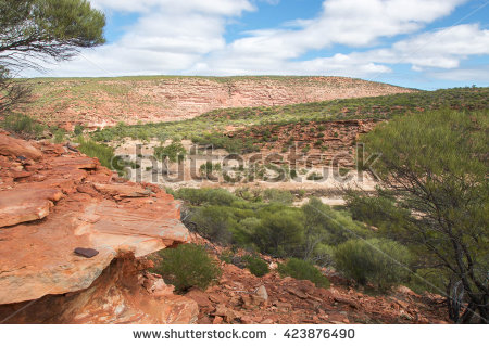 Sandstone Bluff Stock Photos, Royalty.