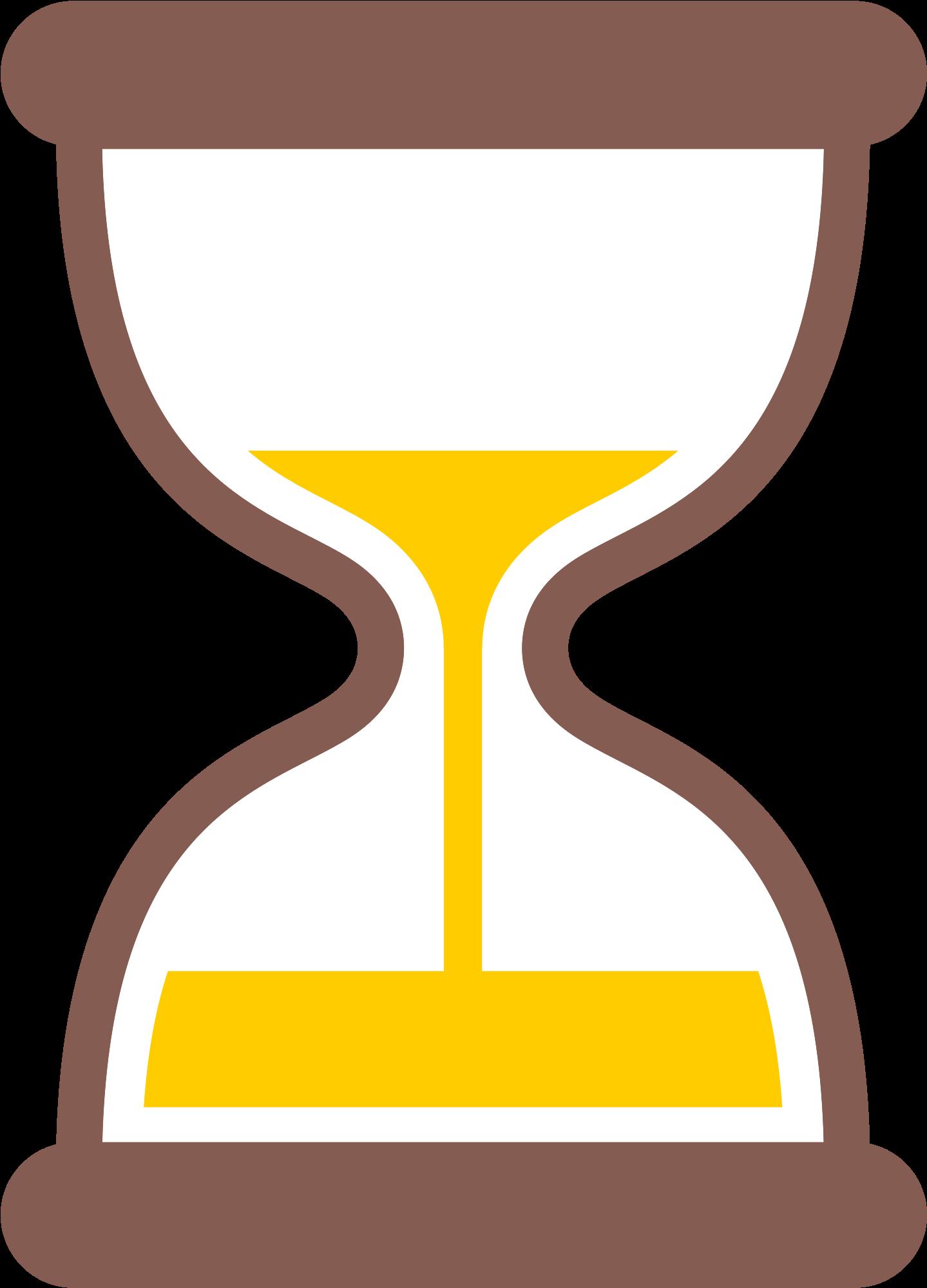 Hourglass Clipart Yellow.