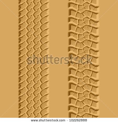 Wheel Track Sand Stock Vectors & Vector Clip Art.