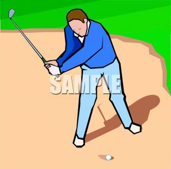 Sand trap clipart #12