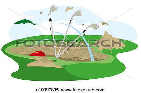 Sand traps Illustrations and Clipart. 31 sand traps royalty free.