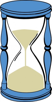 Download Hourglass With Sand clip art Vector Free.