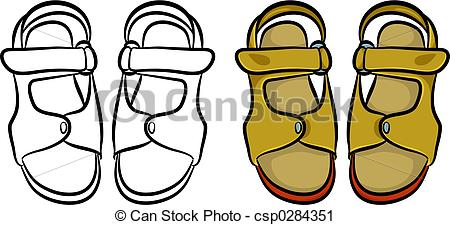 Sandals Illustrations and Stock Art. 6,950 Sandals illustration.