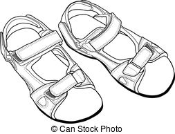 Sandals Clipart Vector Graphics. 5,311 Sandals EPS clip art vector.