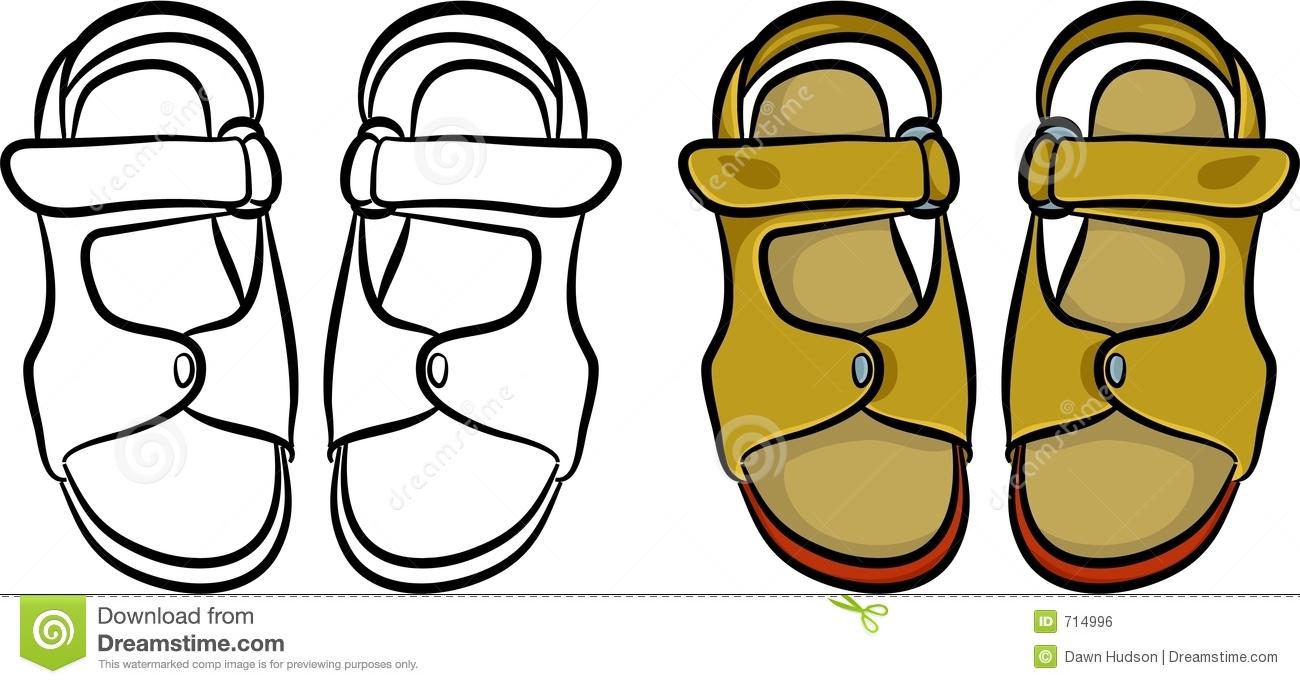 Sandals Clipart.