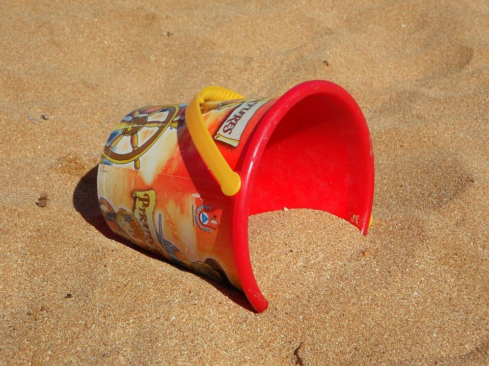 Sand, Bucket.