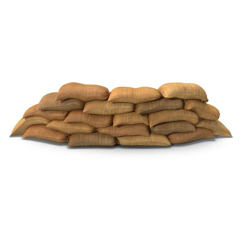 Sandbags Barricade.