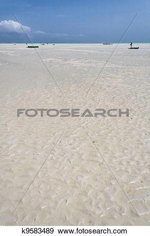 Stock Photograph of Sandbank k9583489.