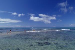 Ocean Photo Clipart Image.