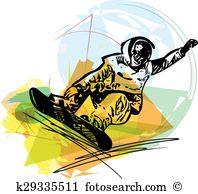 Sandboarding Clip Art and Illustration. 9 sandboarding clipart.