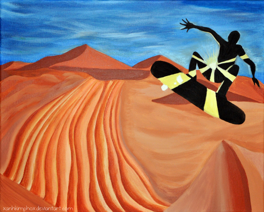 Sand Boarding by AnhPho on DeviantArt.