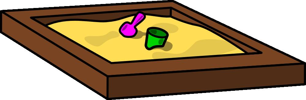 Sandbox Clipart.