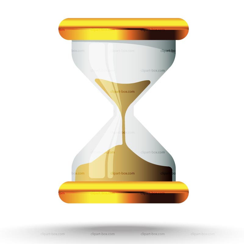 Clipart hourglass timer.