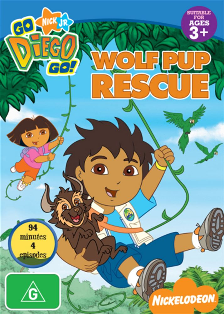 Go Diego Go!: Wolf Pup Rescue.